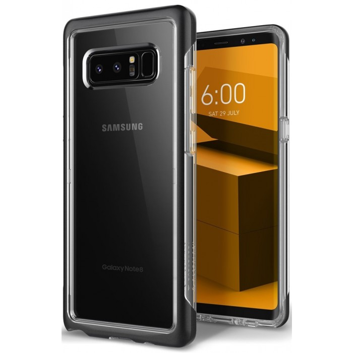 Caseology Skyfall Case for Samsung Galaxy Note 8 - Matte Black