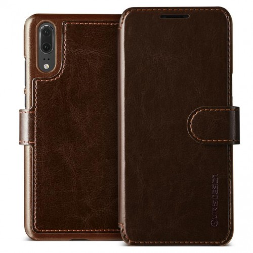 VRS Design Dandy Layered Case for Huawei P20 - Brown