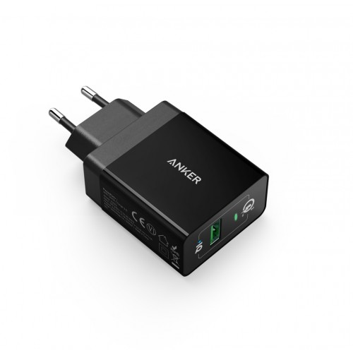 Anker PowerPort+ 1 with Quick Charge 3.0 - Black