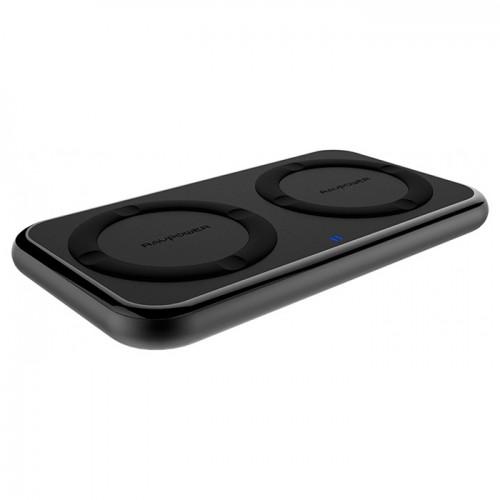 RAVPower Dual Fast Wireless Charging Pad 36W - Black