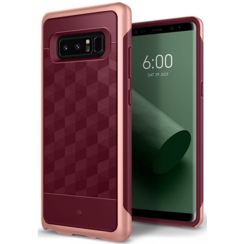 Caseology Parallax Case for Samsung Galaxy Note 8 - Burgundy