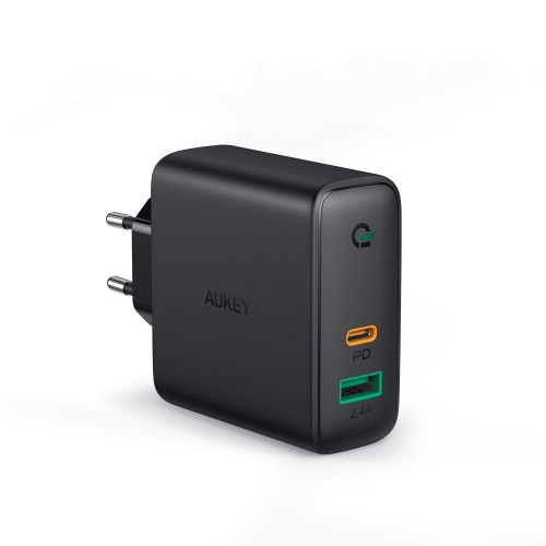 Aukey Dual-Port PD Charger 60W