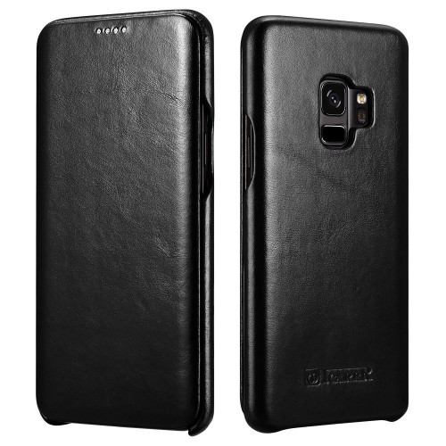 iCarer Vintage Case for Samsung Galaxy S9 - Black