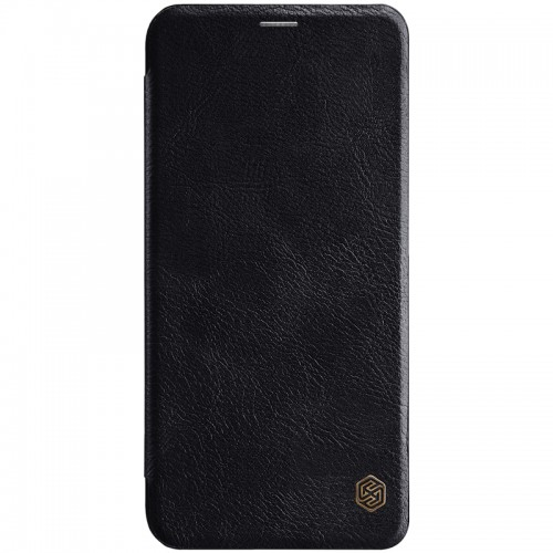 Nillkin Qin Leather Case for Huawei Mate 20 Lite - Black
