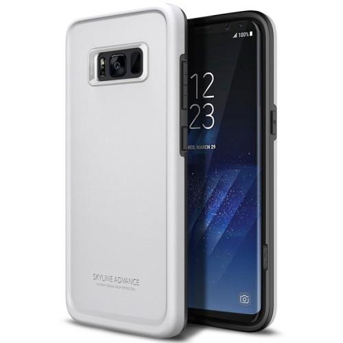 Obliq Skyline Advance Case for Samsung Galaxy S8 - White