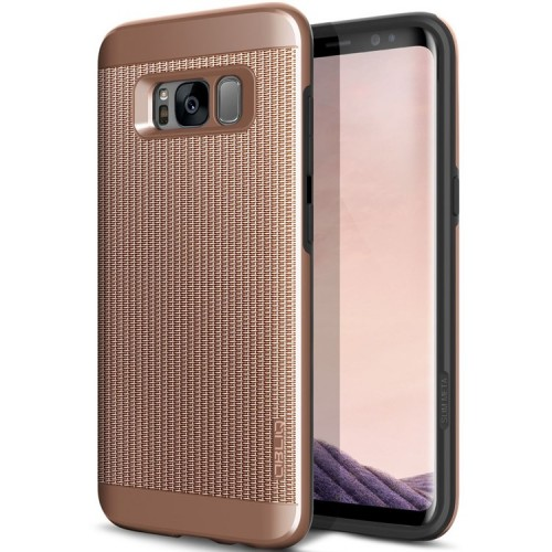Obliq Slim Meta Case for Samsung Galaxy S8 Plus - Copper Gold