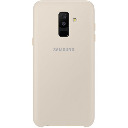 Samsung Dual Layer Cover for Galaxy A6+ (2018) - Gold