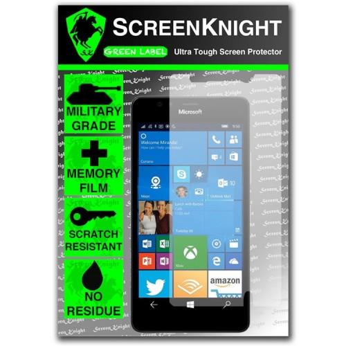 ScreenKnight Screen Protector for Microsoft Lumia 950 - Invisible Shield