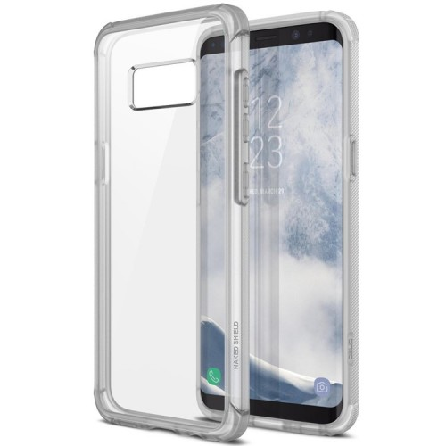 Obliq Naked Shield Case for Samsung Galaxy S8 Plus - Frost Clear