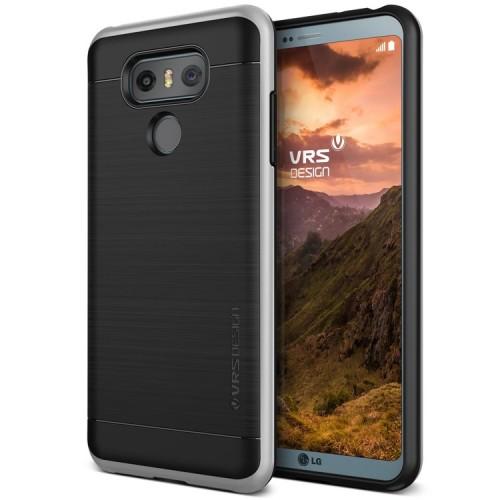 VRS Design High Pro Shield Case for LG G6 - Light Silver
