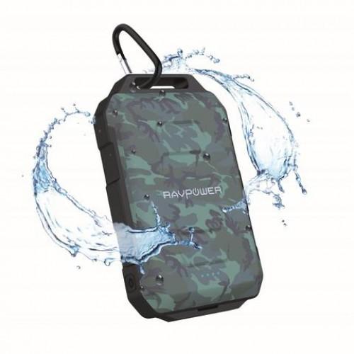 RAVPower Portable Charger 10050 mAh Waterproof & Dustproof - Camouflage