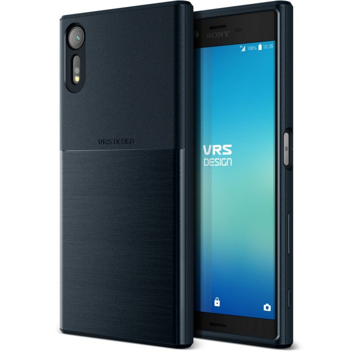 VRS Design Single Fit Case for Sony Xperia XZs - Navy