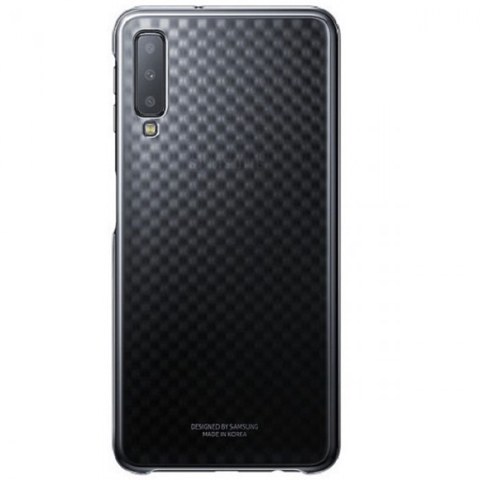 Samsung Gradation Cover for Galaxy A7 (2018) - Black