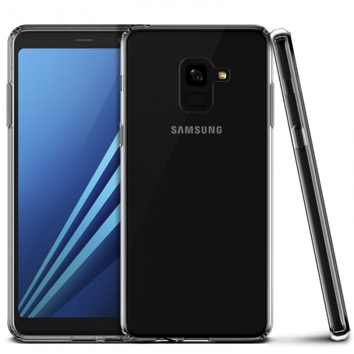 VRS Design Crystal MIXX Case for Samsung Galaxy A8 (2018) - Clear