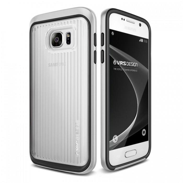 VRS Design Triple Mixx Case for Samsung Galaxy S7 - Light Silver