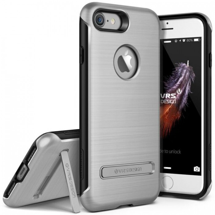 VRS Design Duo Guard Case for iPhone 7 - Light Silver