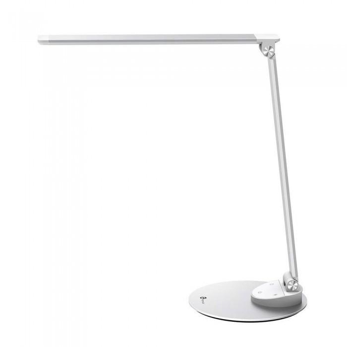 Taotronics Aluminium TT-DL19 LED Desk Lamp, with USB Charging Port, 25 Light Modes - Silver
