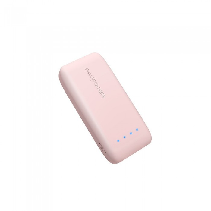 RAVPower Portable Charger 6700 mAh - Pink
