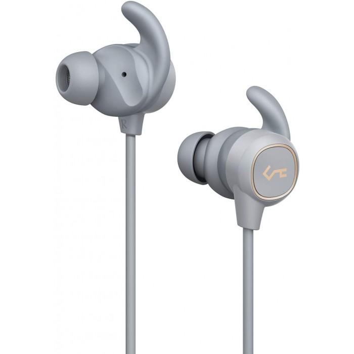 Aukey Bluetooth Headphones Water Resistance - Light Grey