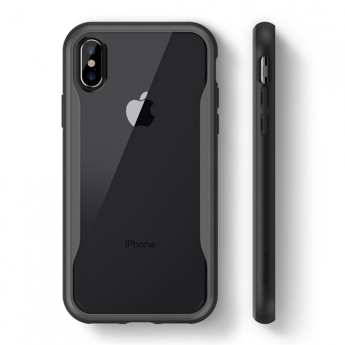 Caseology Coastline Case for iPhone X - Gray
