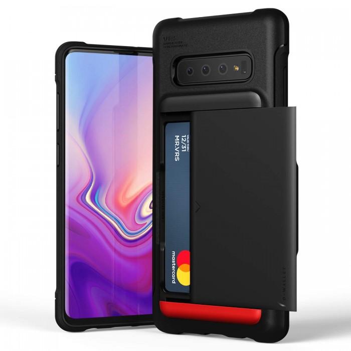 VRS Design Damda Shield Case for Samsung Galaxy S10 Plus - Matt Black