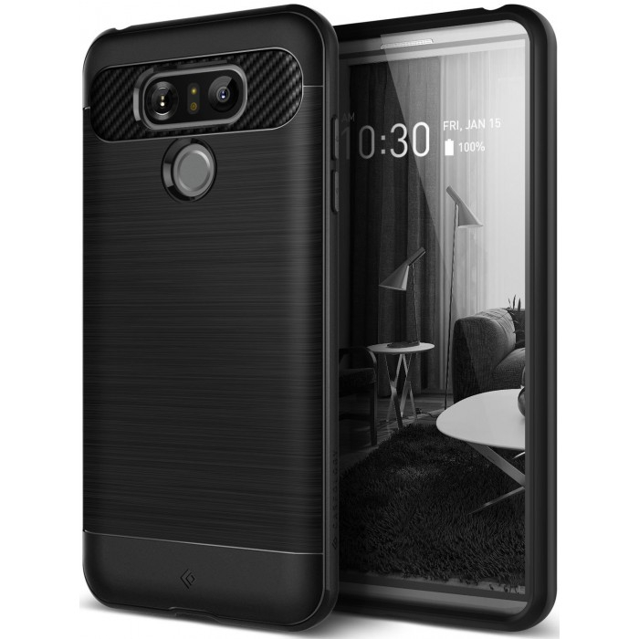 Caseology Vault II Case for LG G6 - Black