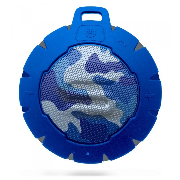 Storm Soul Waterproof Bluetooth Speaker - Camo Blue