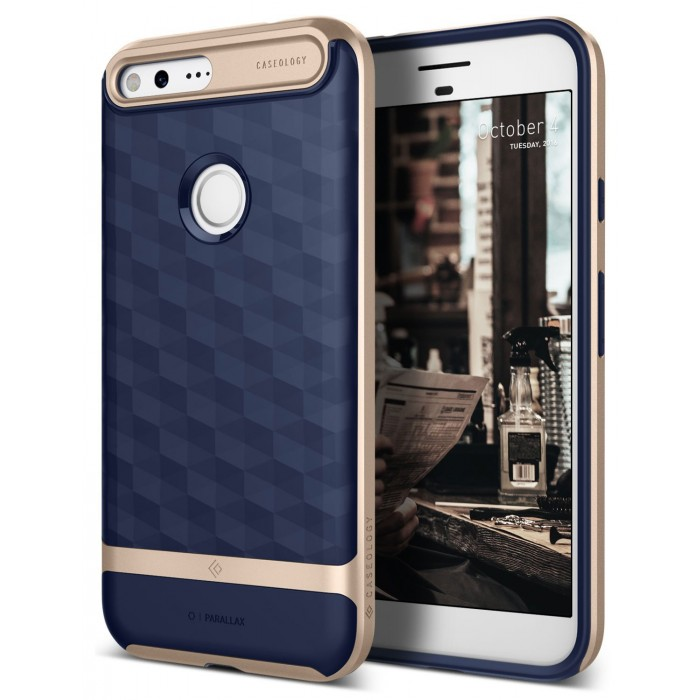 Caseology Parallax Case for Google Pixel - Navy Blue