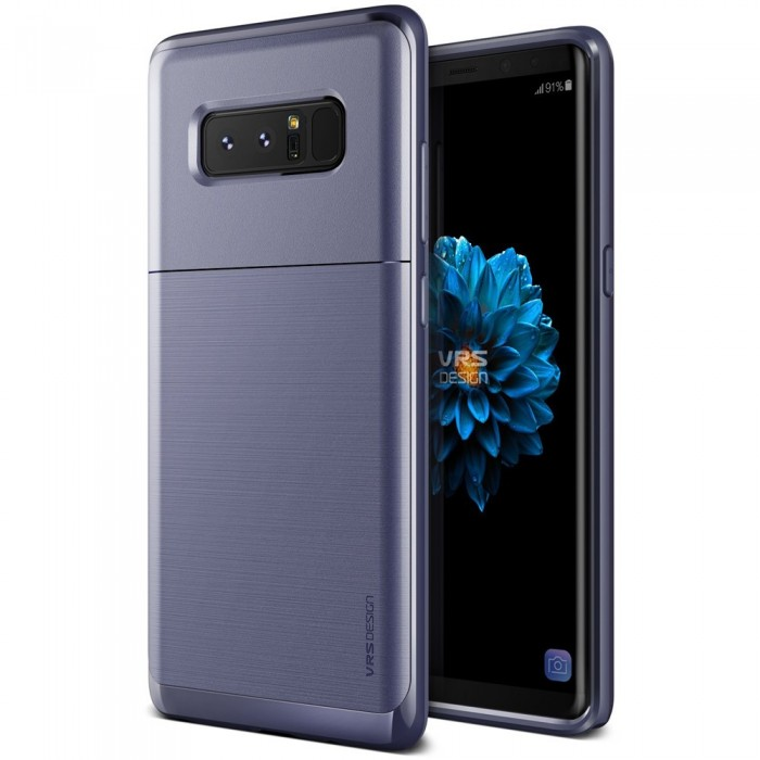 VRS Design High Pro Shield Case for Samsung Galaxy Note 8 - Orchid Gray S