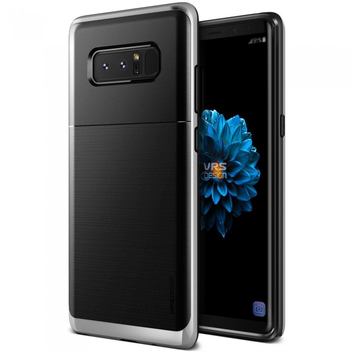 VRS Design High Pro Shield Case for Samsung Galaxy Note 8 - Silver