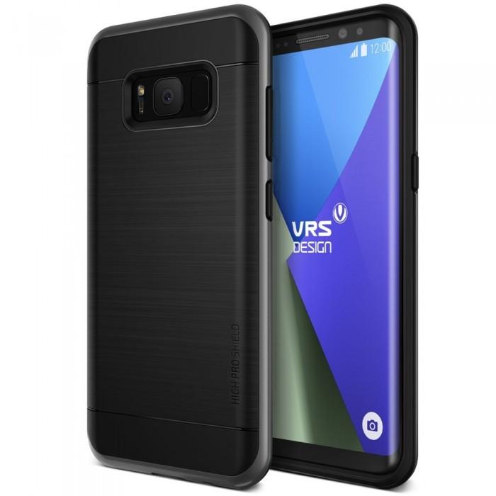 VRS Design High Pro Shield Case for Samsung Galaxy S8 Plus - Dark Silver