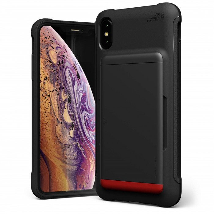 VRS Design Damda Shield Case for iPhone Xs Max - Matt Black