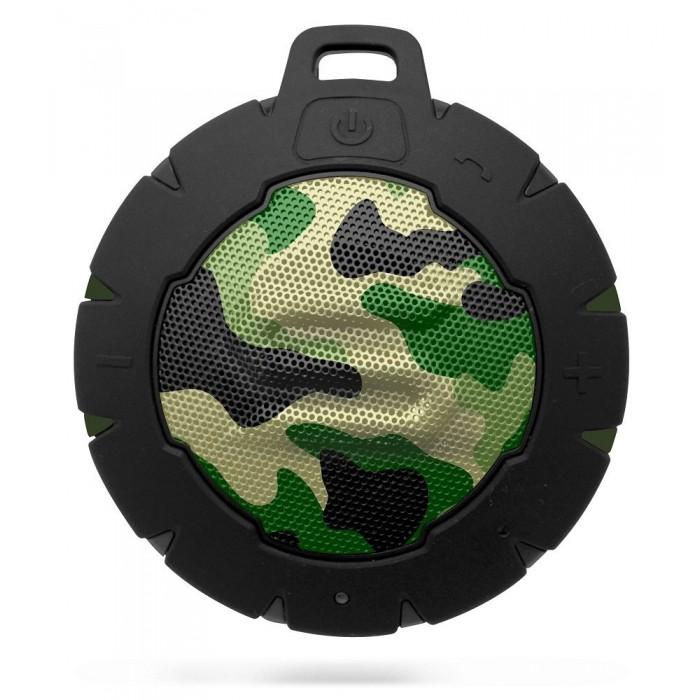 Storm Soul Waterproof Bluetooth Speaker - Camo Green