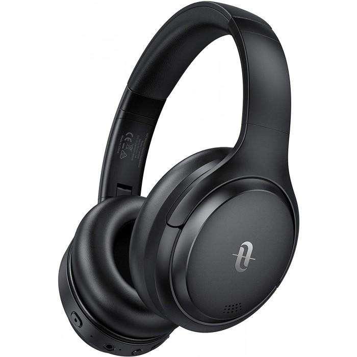 TaoTronics SoundSurge 90 Active Noise Cancelling, Bluetooth 5.0 Headphones - Black