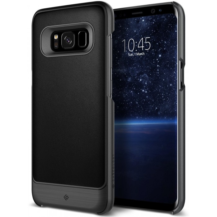 Caseology Fairmont Case for Samsung Galaxy S8 Plus - Black