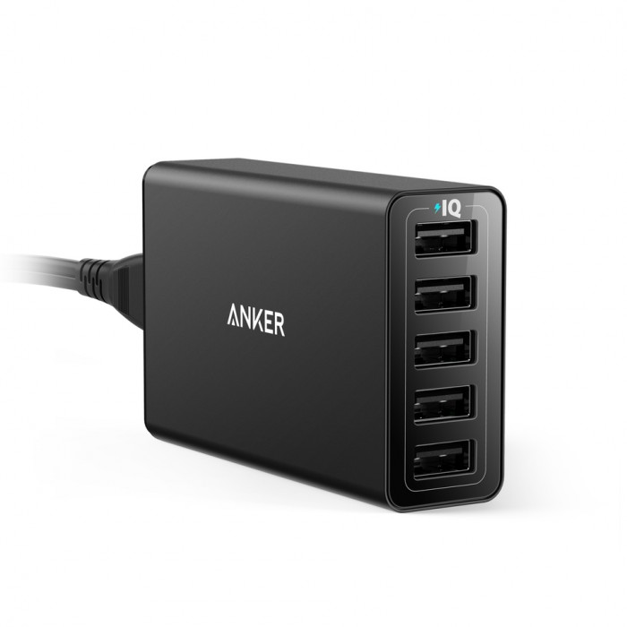 Anker PowerPort 5 40W 5-Port Charger