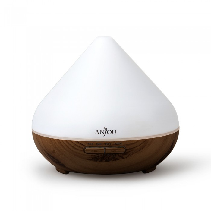 Anjou 300ml Essential Oil Diffuser Aromatherapy - Dark Wood Style