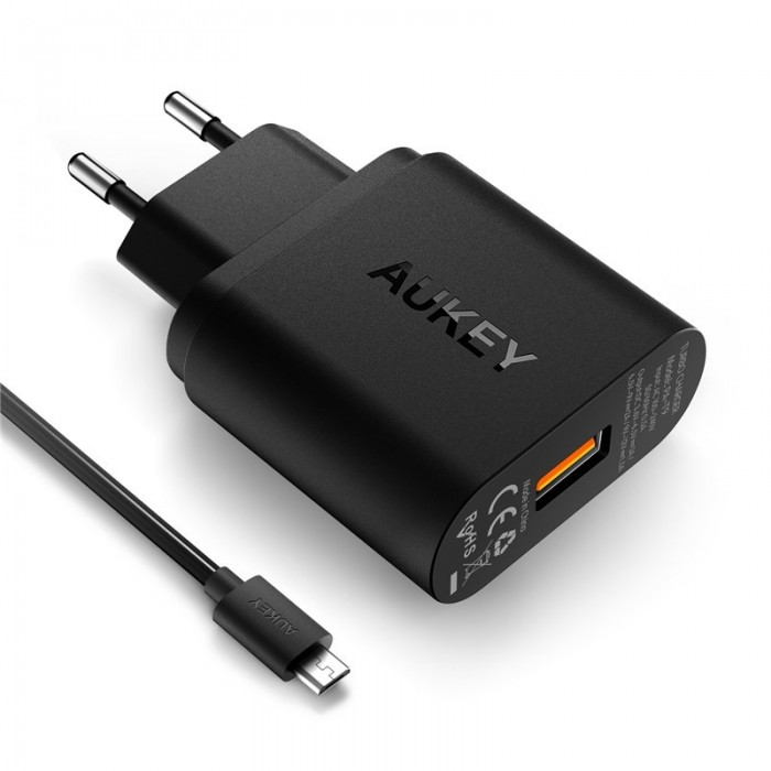 Aukey 18W Wall Charger with Quick Charge 3.0