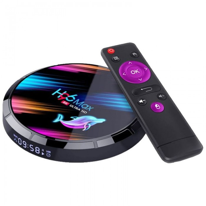 H96 Max X3 S905X3 8K 4GB/64GB Android 9 - Android TV