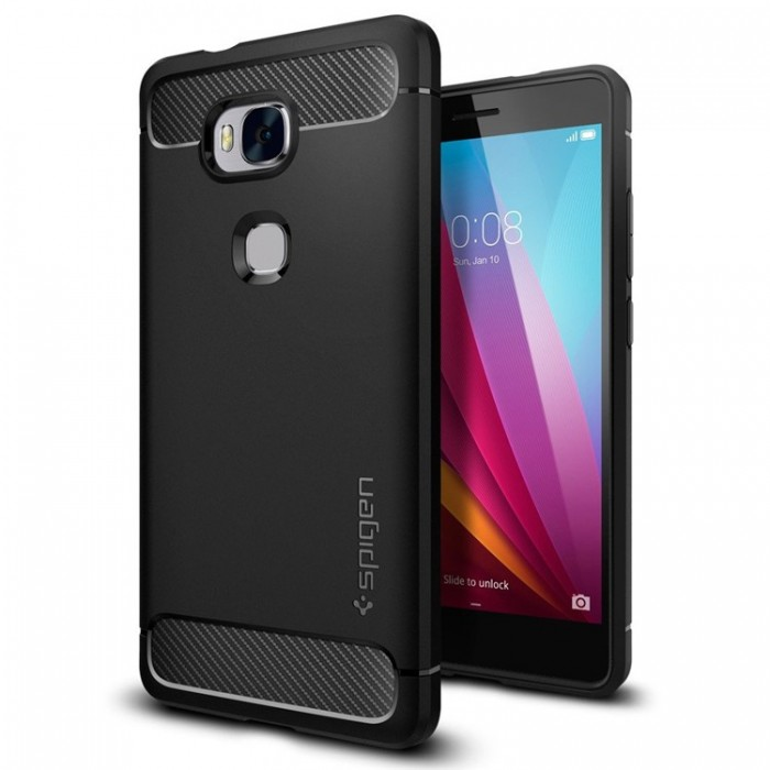Spigen Rugged Armor Case for Huawei Honor 5X - Black