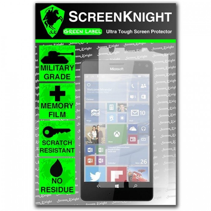 ScreenKnight Screen Protector for Microsoft Lumia 950 XL - Invisible Shield