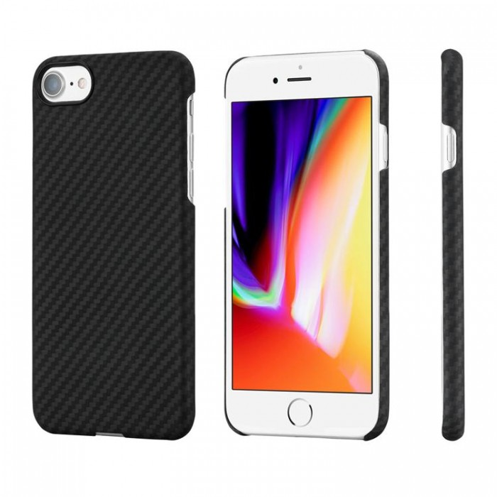 Pitaka Case for iPhone 7 / 8 - Kevlar Body 0.65mm