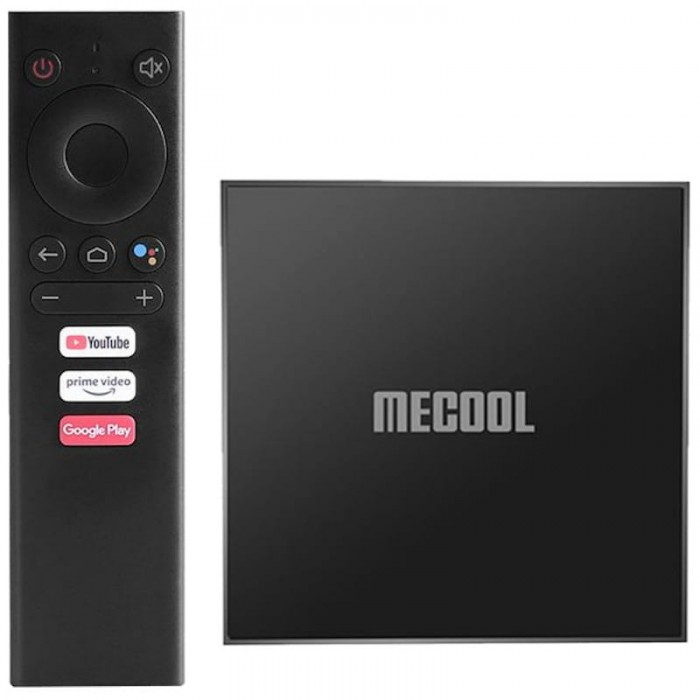 MECOOL 2021 Android TV 10 Box KM6 Classic Edition 2/16GB Amlogic S905X4 Powered Supports AV1 contents