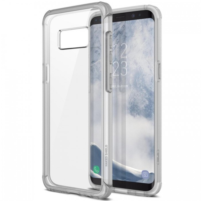 Obliq Naked Shield Case for Samsung Galaxy S8 - Frost Clear