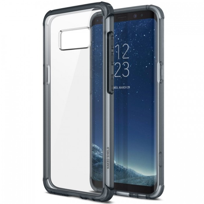 Obliq Naked Shield Case for Samsung Galaxy S8 Plus - Smoky Navy
