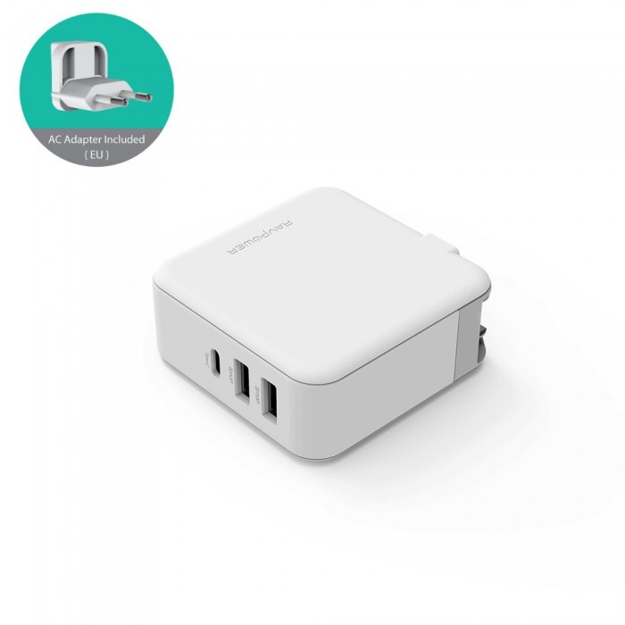 RAVPower 3-port PD Charger - 65W