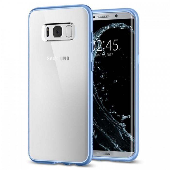 Spigen Ultra Hybrid Case for Samsung Galaxy S8 Plus - Blue Coral