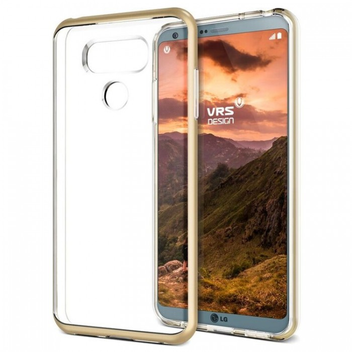 VRS Design Crystal Bumber Case for LG G6 - Shine Gold