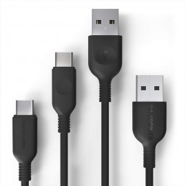 RAVPower USB C to USB A Cable 2-Pack