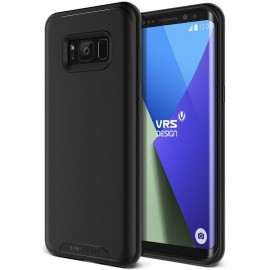 VRS Design Single Fit Case for Samsung Galaxy S8 Plus - Black